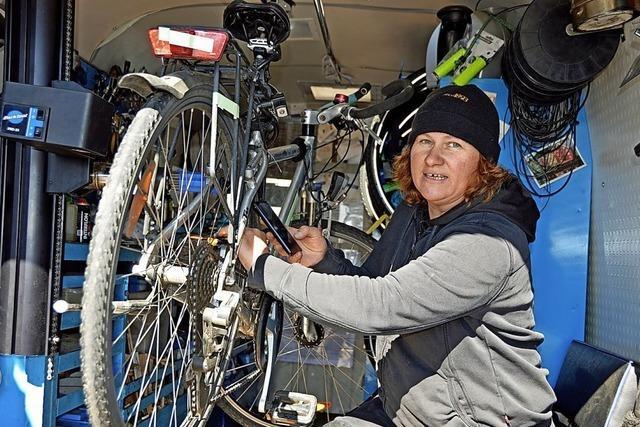 Mit dem Rad sicher zur Arbeit