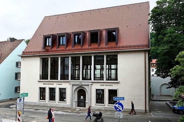 Baulücke in der Freiburger Altstadt ist nach 75 Jahren geschlossen