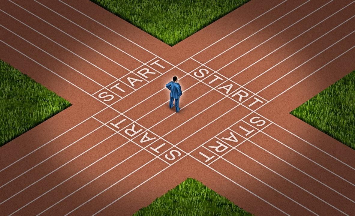 Alles auf Anfang: Jede Krise ist ein U...n kann, einen neuen Weg einzuschlagen.  | Foto: freshidea - stock.adobe.com