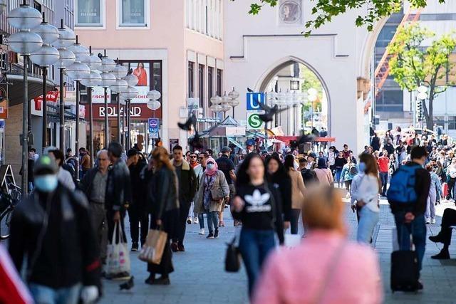 Kunden kehren nur langsam in die Innenstädte zurück