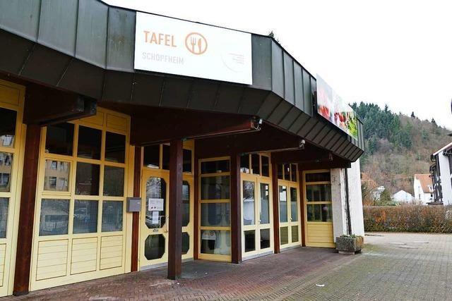 Der Tafelladen in Schopfheim öffnet wieder