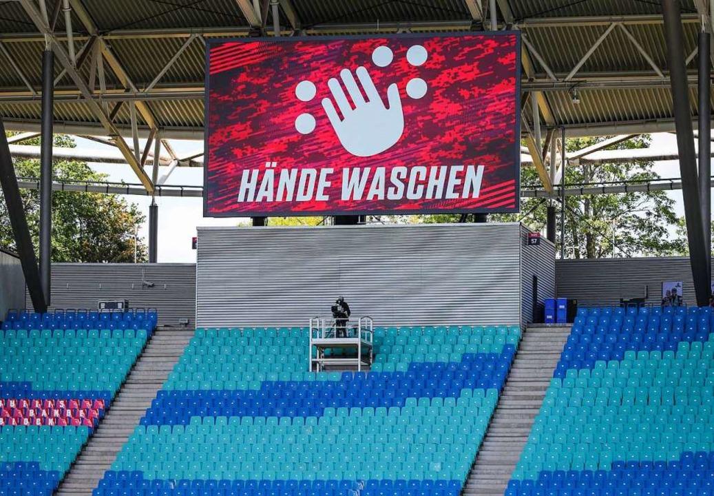 """""""Hände waschen"""" lautet die...iese Anweisung hätten befolgen können.    Foto: Jan Woitas (dpa)"""