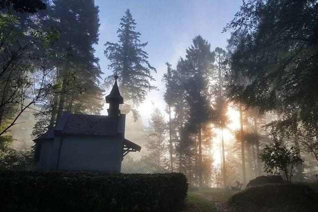 Magisches Licht bei der St.Wendelinkapelle