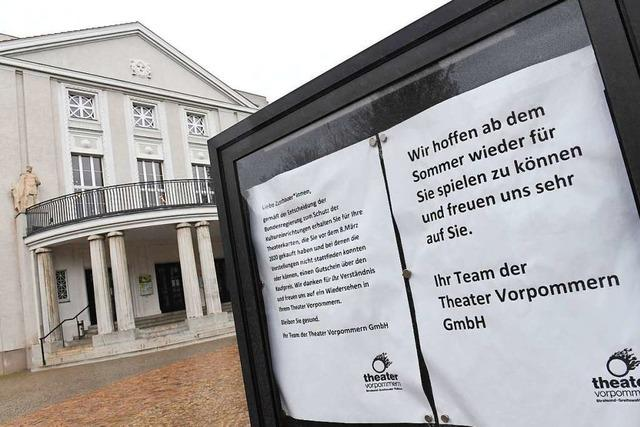Kulturminister wollen Theater wieder öffnen - Eckpunkte für Merkel