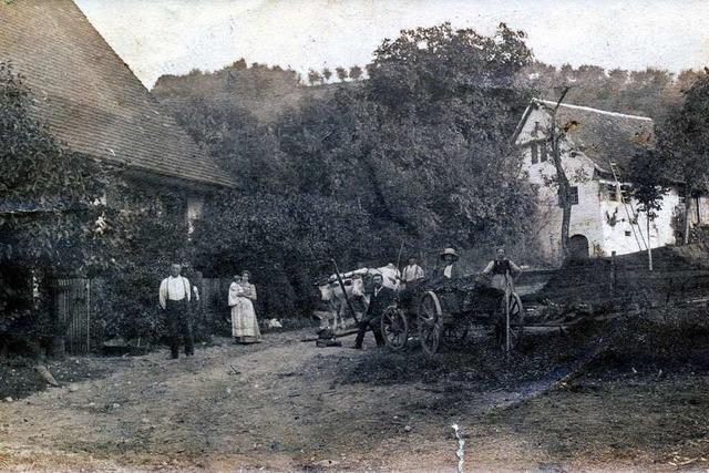 Auf dem Kappenhof in Glottertal lebte ein erfolgreicher Obstbauer und Erfinder