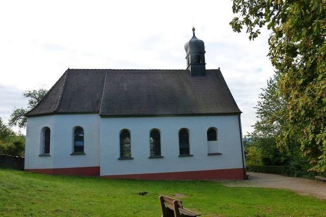 Die Berghauser-Kapelle bei Ebringen stand schon mehrfach vor dem Abriss