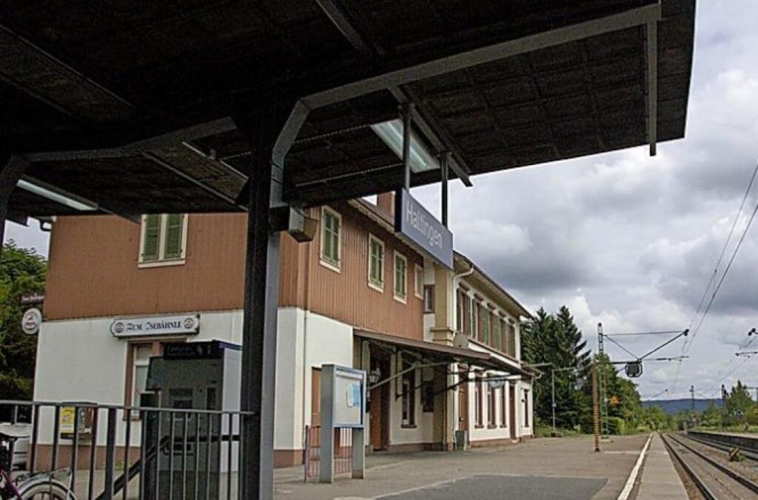 Bahngeschichte soll auf der Schallschutzwand  sichtbar bleiben.    Foto: senf