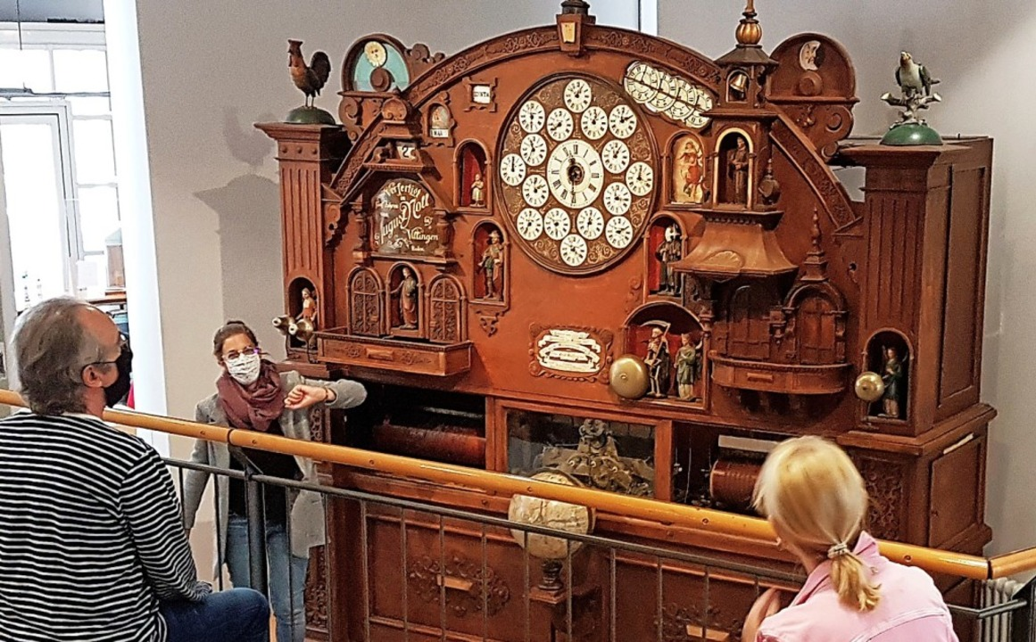 Test-Vorführung der Weltzeituhr.   | Foto: Deutsches Uhrenmuseum Furtwangen