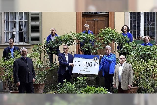 10 000 Euro für die Tafel