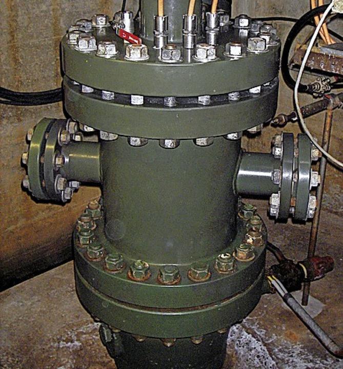 Ein Brunnenkopf der Riehener Geothermieanlage  | Foto: www.info-geothermie.ch
