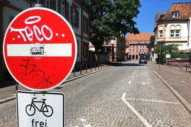 Fahrrad-Club will keine Autos in der Schillerstraße in Lahr