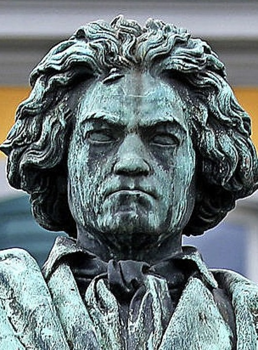 Beethoven-Statue in Bonn  | Foto: Oliver Berg (dpa)