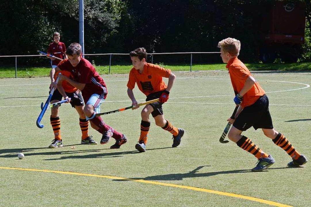 Wann die  Nachwuchsteams des  HC Lahr ...schränkt trainieren dürfen sie wieder.    Foto: Uwe Schwerer