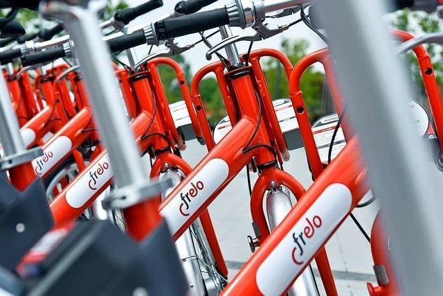 Freiburger Leihfahrräder soll es bald testweise auch am Tuniberg geben