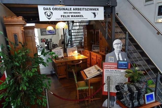 Arbeitszimmer von Felix Wankel ist im Museum Autovision zu sehen
