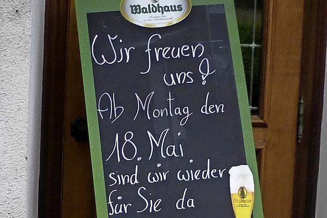 Gastronomen im südlichen Breisgau sind auf Gäste vorbereitet