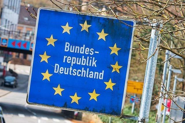 Grenze zwischen Sasbach und Marckolsheim ist seit Samstagmorgen wieder offen