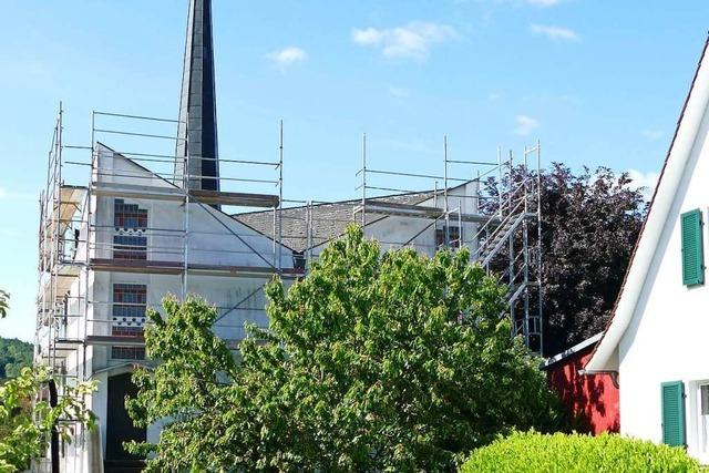 Denkmalgeschützte Christuskirche Steinen braucht ein neues Dach