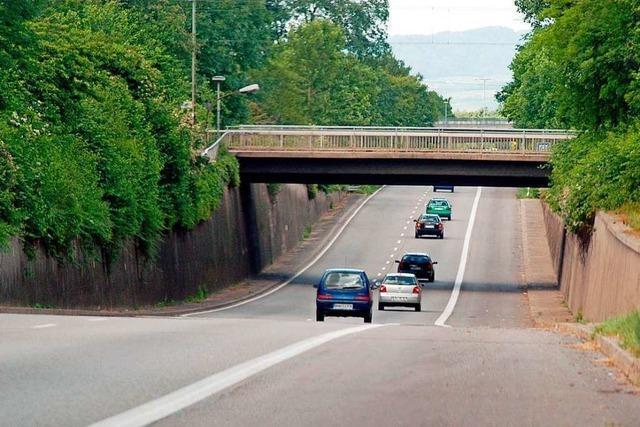Auf der Freiburger B31 a und dem Dreisamuferweg kommt es zu Einschränkungen