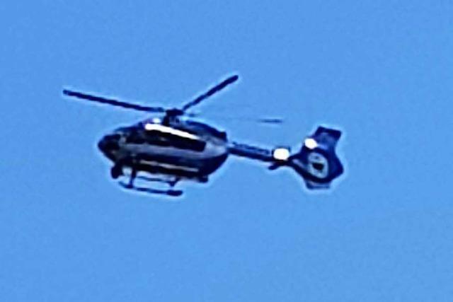 Versuchtes Sexualdelikt – Polizei fahndet per Helikopter nach Täter