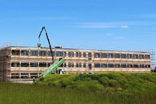 Autozulieferer SMP baut zwei neue Verwaltungsgebäude in Bötzingen