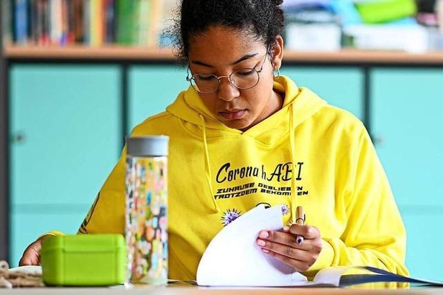 Die Abiturprüfungen haben im Kreis Lörrach unter erschwerten Bedingungen begonnen