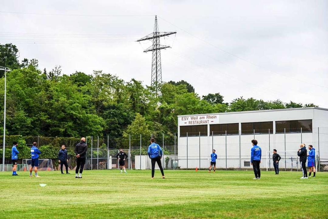 Training auf Distanz  | Foto: Gerd Gruendl