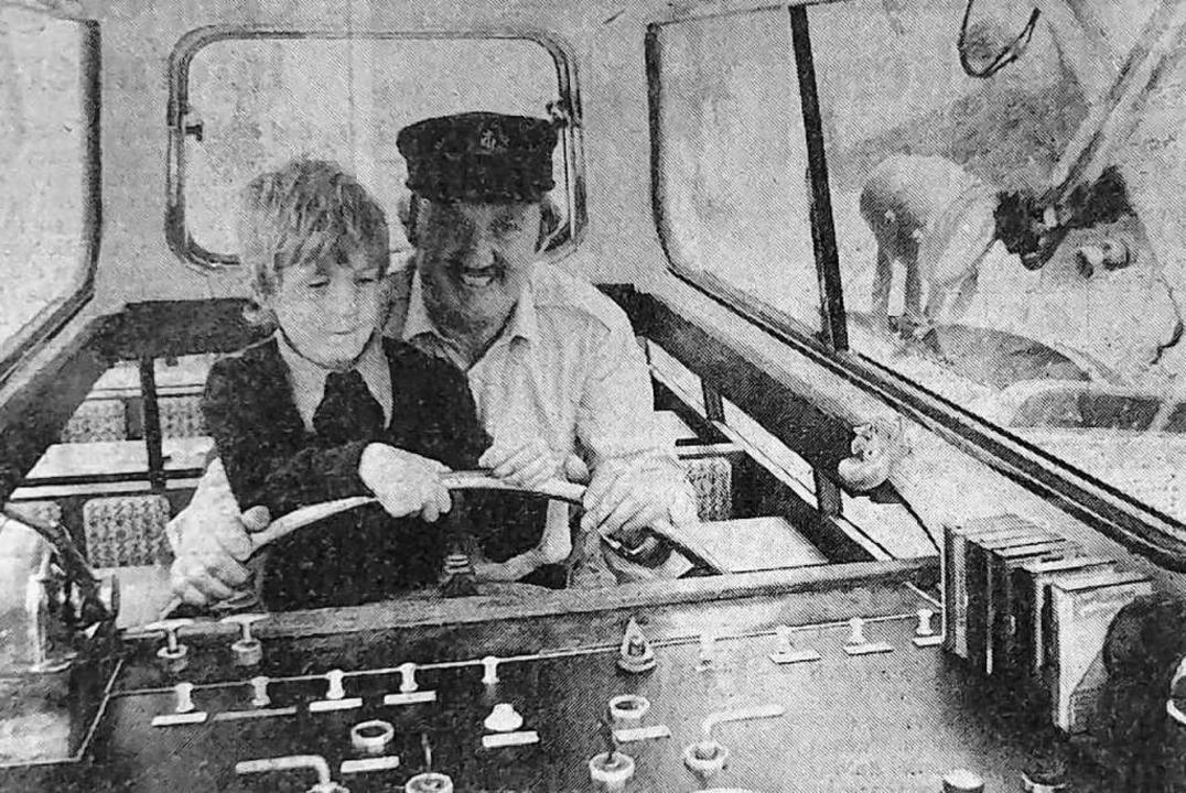 Gottfried Michlmayr ließ vor 40 Jahren...ld aus der BZ vom 11.Juni 1980 belegt.    Foto: Meiser/BZ Archiv