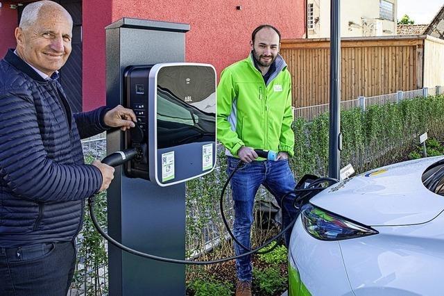 Neues E-Car-Sharing-Auto in Kirchhofen in Betrieb genommen