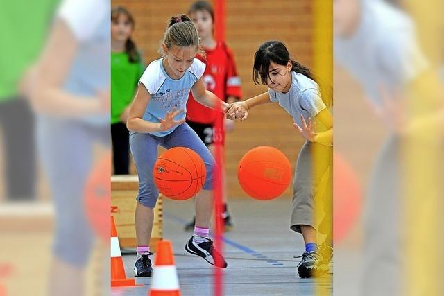 Freude am Sport und mit der Arbeit mit Kindern