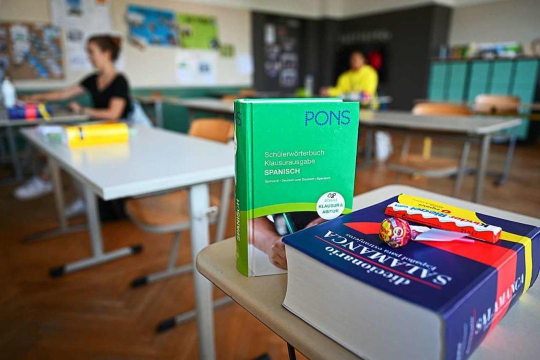 Abiturprüfung in Ravensburg.  | Foto: Felix Kästle (dpa)