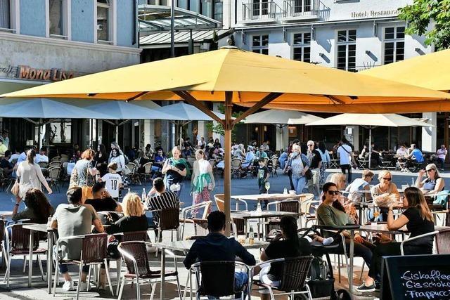 Der große Ansturm auf die Gastronomie im Kreis Lörrach blieb aus