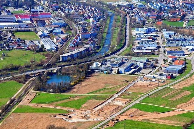 Neues Gewerbegebiet in Lörrach-Brombach kann bald erschlossen werden
