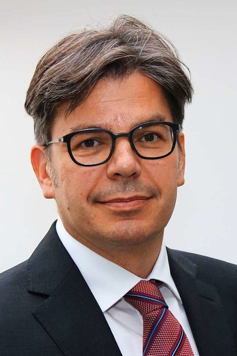 Oliver Kappert leitet das Gesundheitsamt in Freiburg  | Foto: Privat