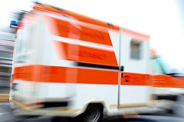 Motorradfahrer bei Unfall in Lörrach verletzt – 14.000 Euro Schaden
