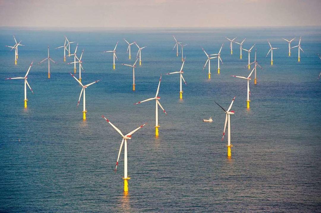 2030 werden mehr als 1000 Windkraftwer...Ende ihrer Lebensdauer erreicht haben.    Foto: Daniel Reinhardt (dpa)