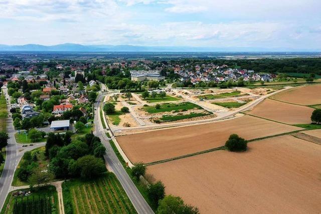 Soll das neue Müllheimer Quartier zur Kernstadt oder zum Ortsteil gehören?