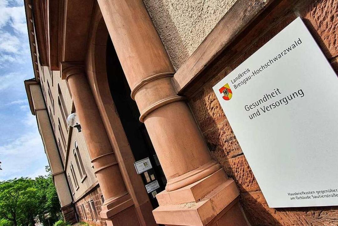 Das Gesundheitsamt in Freiburg ist mit...is Breisgau-Hochschwarzwald zuständig.    Foto: Sebastian Wolfrum