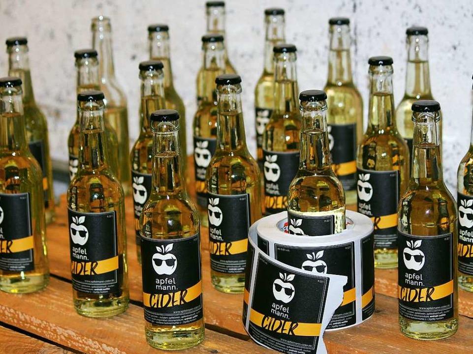 … vom Alkoholgehalt ähnelt das Getränk einer Weinschorle.    Foto: Apfelmann