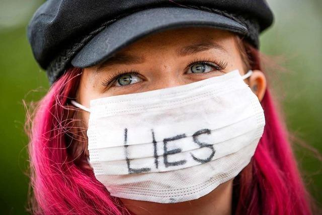 Im Ausland gibt es kaum Proteste gegen Corona-Regeln
