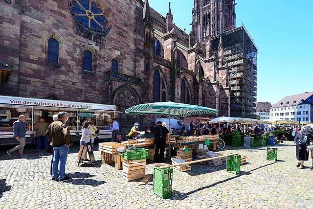 Freiburger Marktbeschicker müssen teilweise umziehen