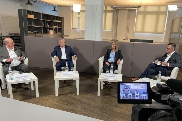 Livestream zum Nachschauen: BZ-Talk zur Oberbürgermeisterwahl in Emmendingen