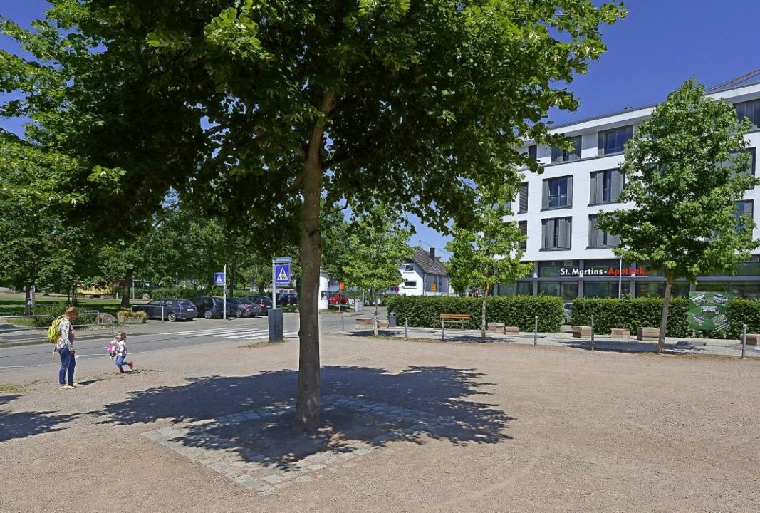 Rund um diesen  Baum auf dem Högebrunn...z soll eine Sitzbank platziert werden.  | Foto: Ingo Schneider