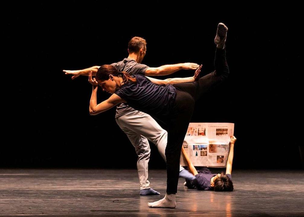 Wird im Dezember zu sehen sein: Choreo...es libanesischen Künstlers RabihMroué.    Foto: Jubal Battisti