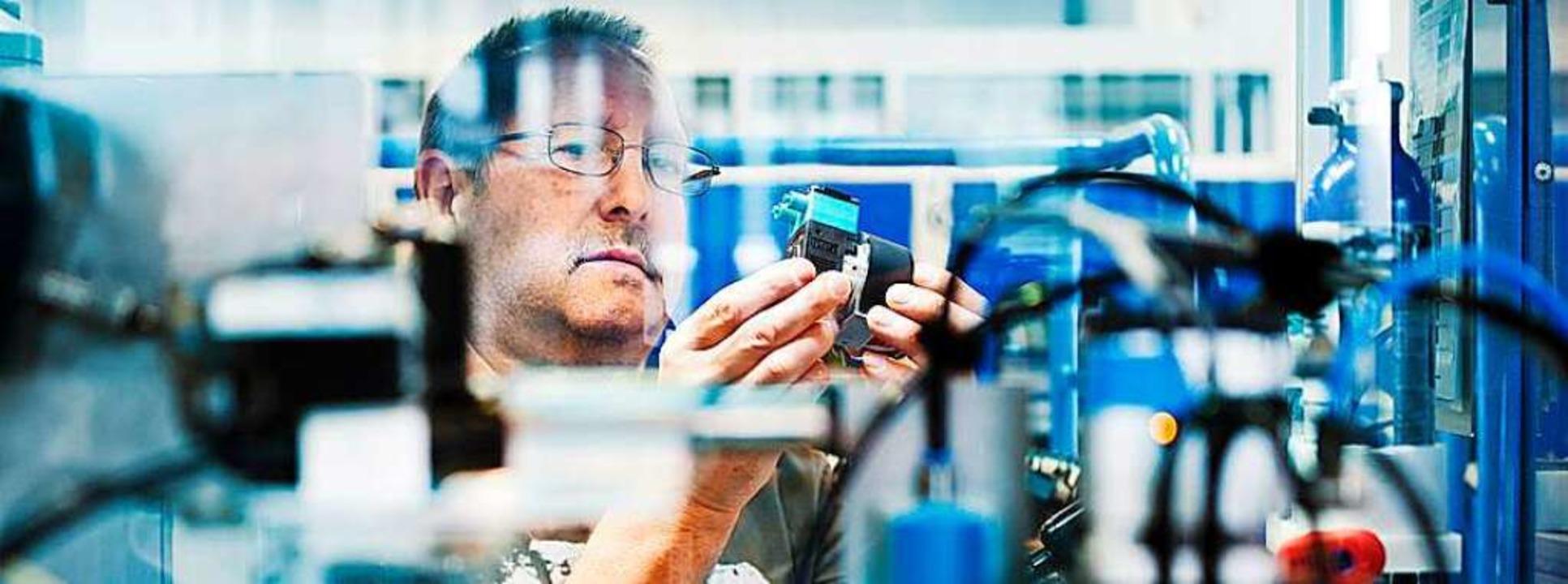 Blick in die Produktion von KNF Neuberger  | Foto: PR