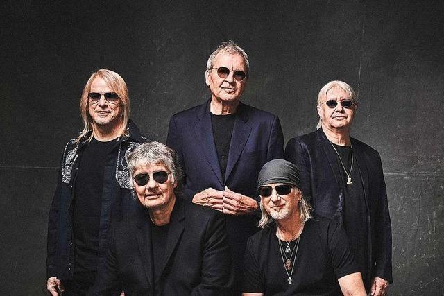 Das Konzert von Deep Purple in Lörrach soll 2021 stattfinden
