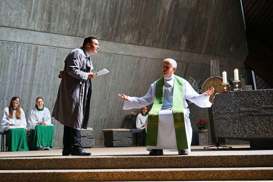 Der Schatzsucher-Gottesdienst ist ein ...en ließ, startet er am Sonntag online.    Foto: privat