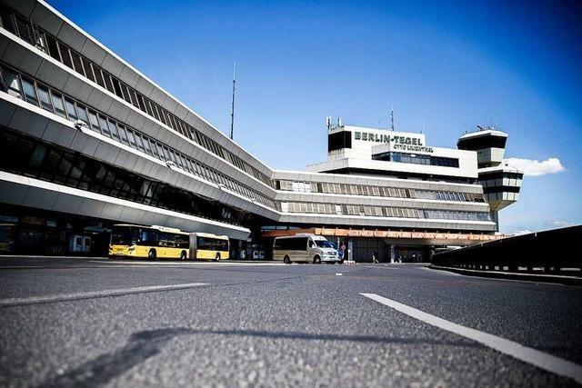 Berliner Flughafen Tegel dürfte im Juni vom Netz gehen