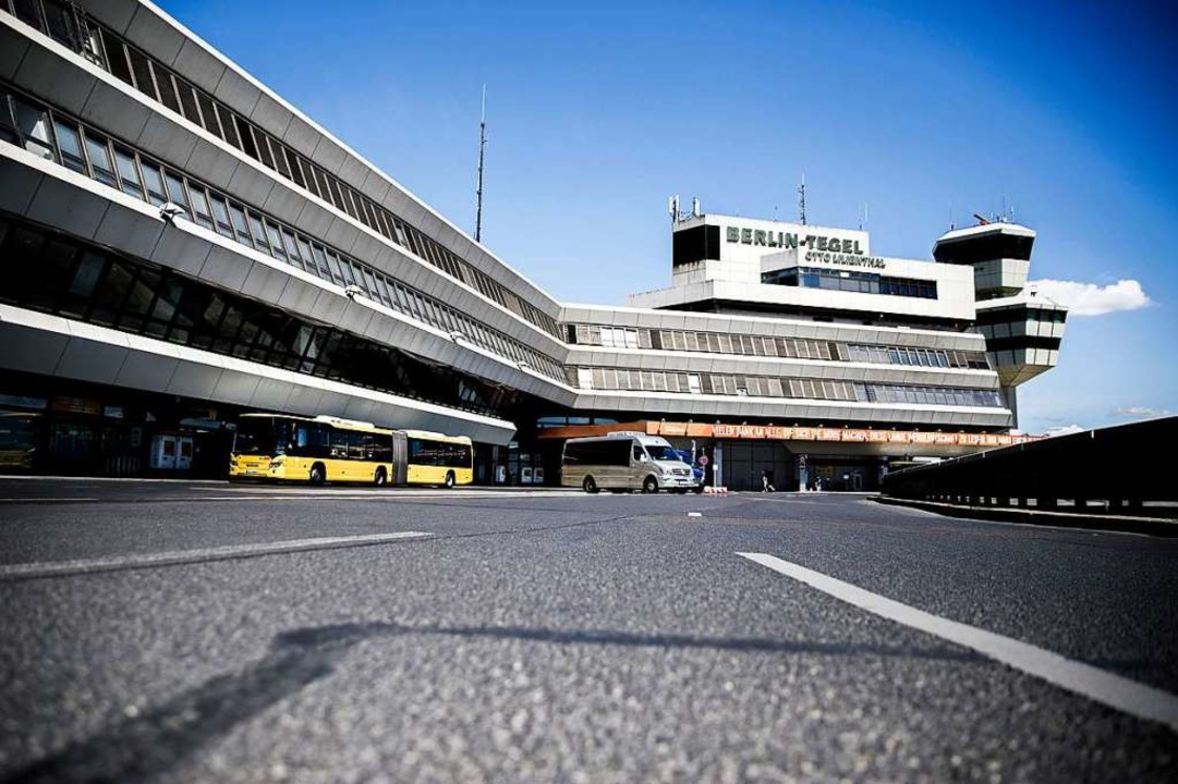 Der Berliner Flughafen Tegel könnte im Juni endgültig schließen  | Foto: Carsten Koall (dpa)