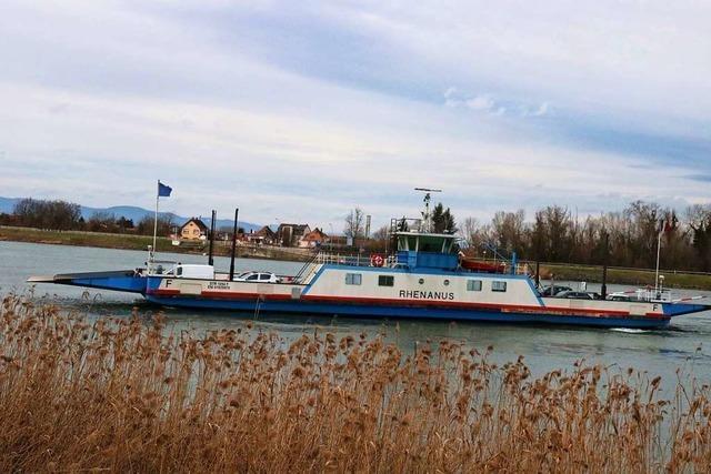 Rheinfähre legt frühestens am 20. Juli wieder ab